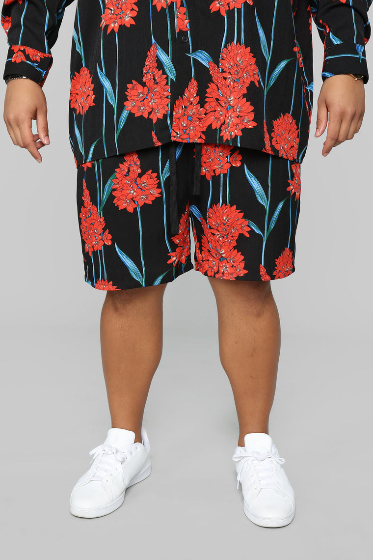 Typhoon Shorts - Black/Multi