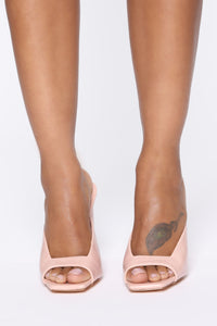Late Notice Heeled Sandals - Rose