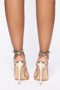 Golden Child Heels - Gold