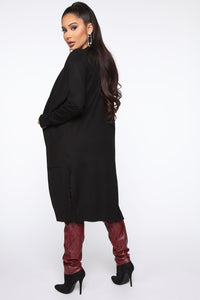 Sweet Nothings Cardigan - Black