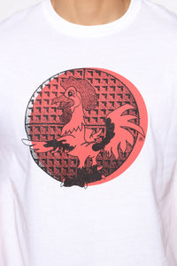 House Of Chicken N Waffles Short Sleeve Tee - White/combo