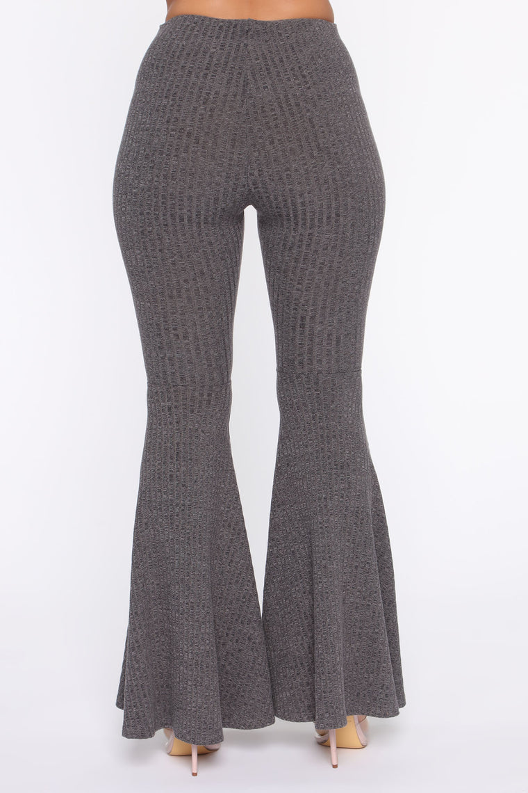 Gypsy Queen Ribbed Set - Charcoal
