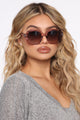 Cup Of Sweetness Sunglasses - Pink