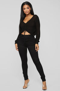 Pull My Strings Sweater - Black