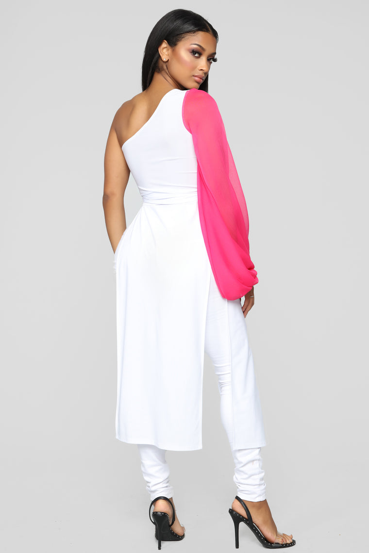 My Fun Side Tunic - White/Combo