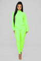 The West Lounge Set - Neon Green