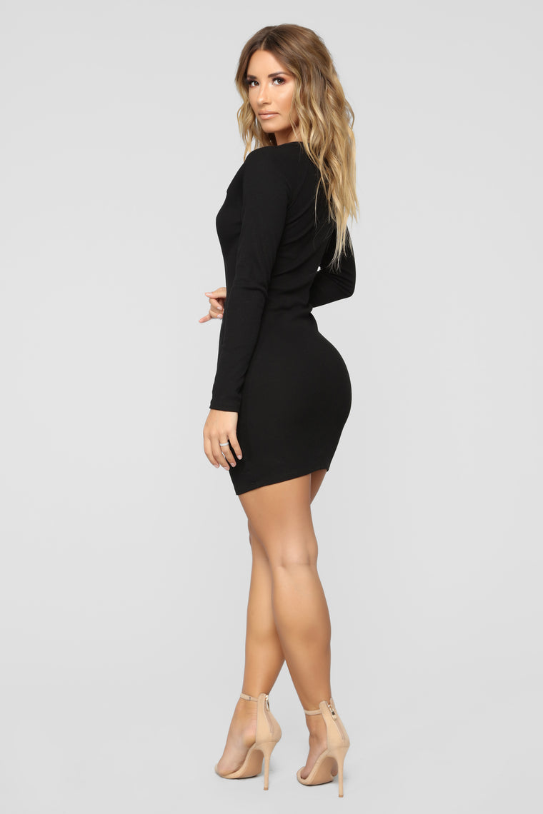 Fae Mini Dress - Black
