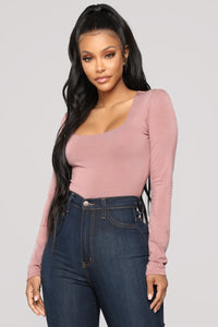 Cherish Me Bodysuit - Rose
