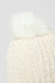 Winter Vibes Beanie - White