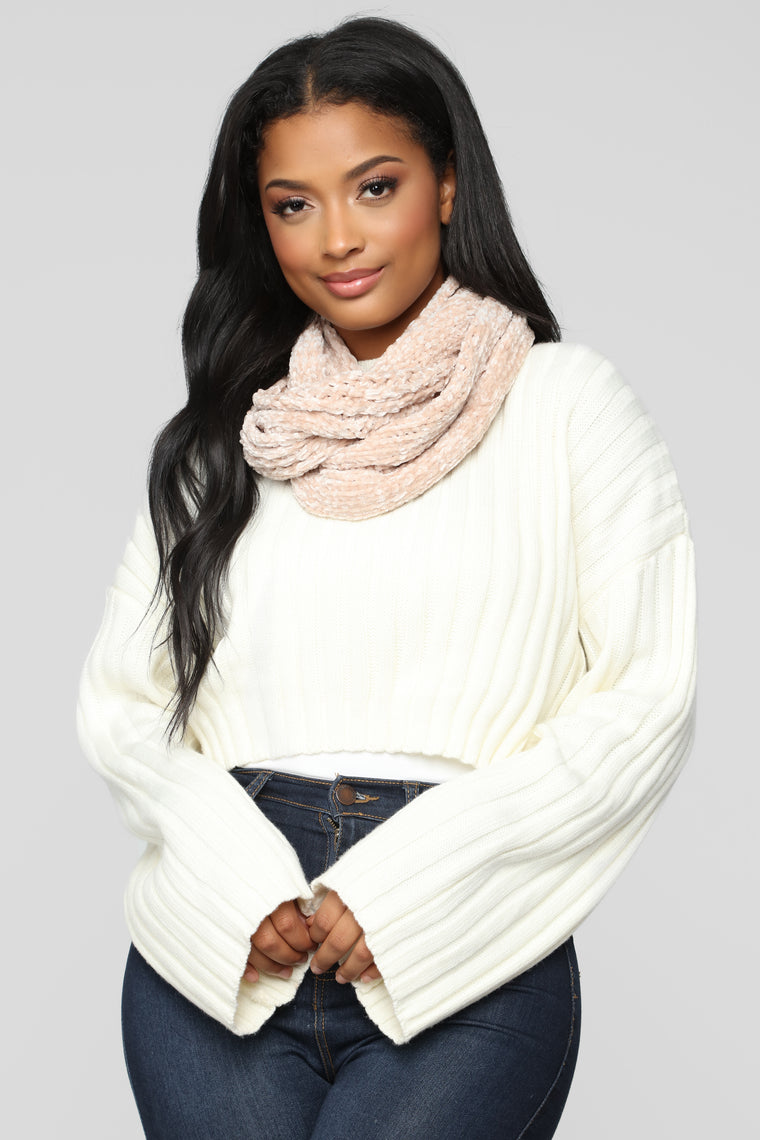 And Beyond Scarf - Blush