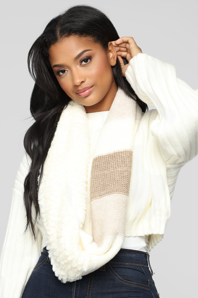Bundle Up Scarf - Ivory
