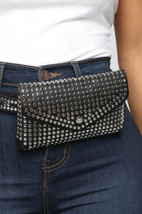 Get Your Shine On Fanny Pack - Black