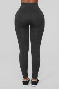 Best I Ever Had Seamless Leggings - Grey