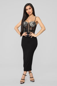 Bad Romance Bustier - Black