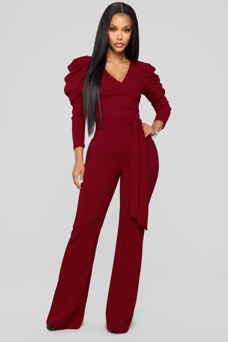 Big Moves Jumpsuit - True Red