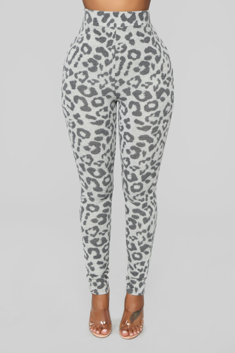 Wild Thoughts Pant Set - Grey