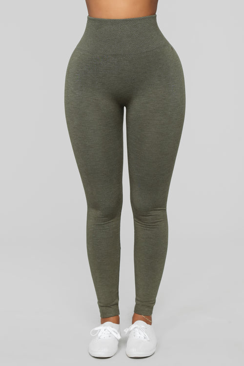 Best I Ever Had Seamless Leggings - Olive