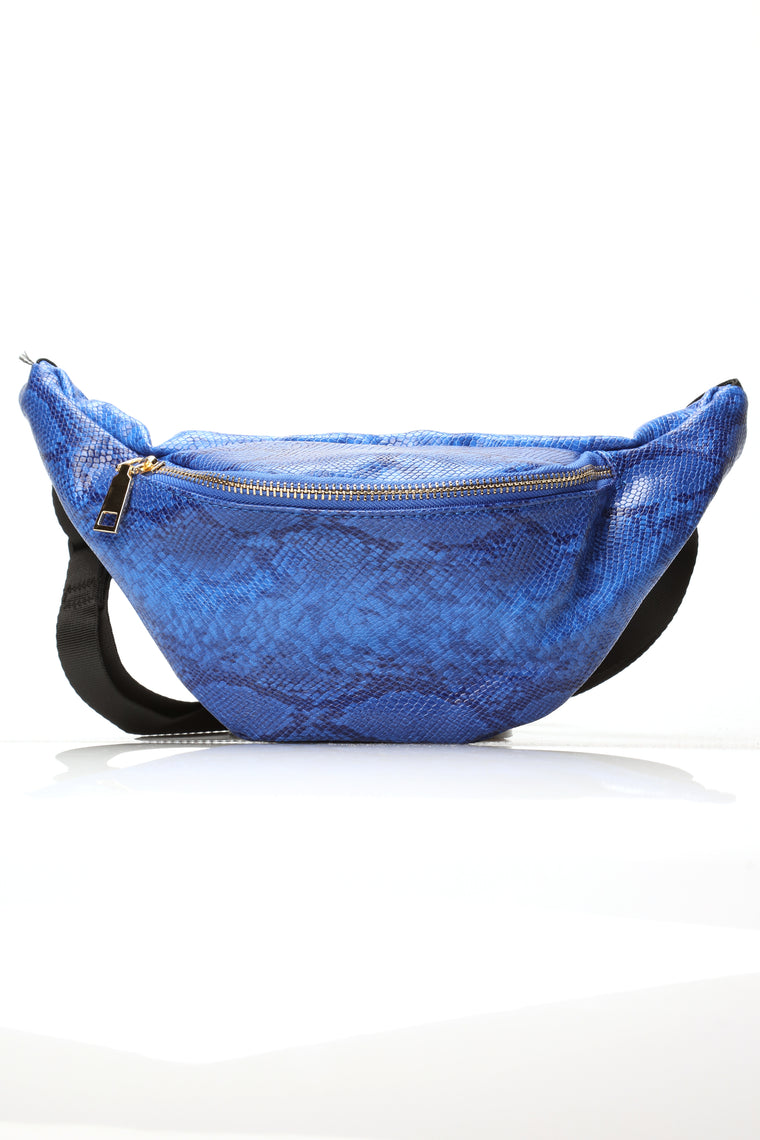 Time To Go Fanny Pack - Royal