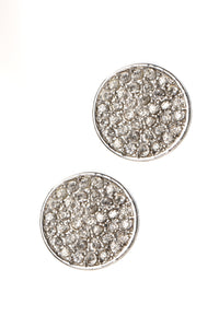 Out Late Earring Set - Silver