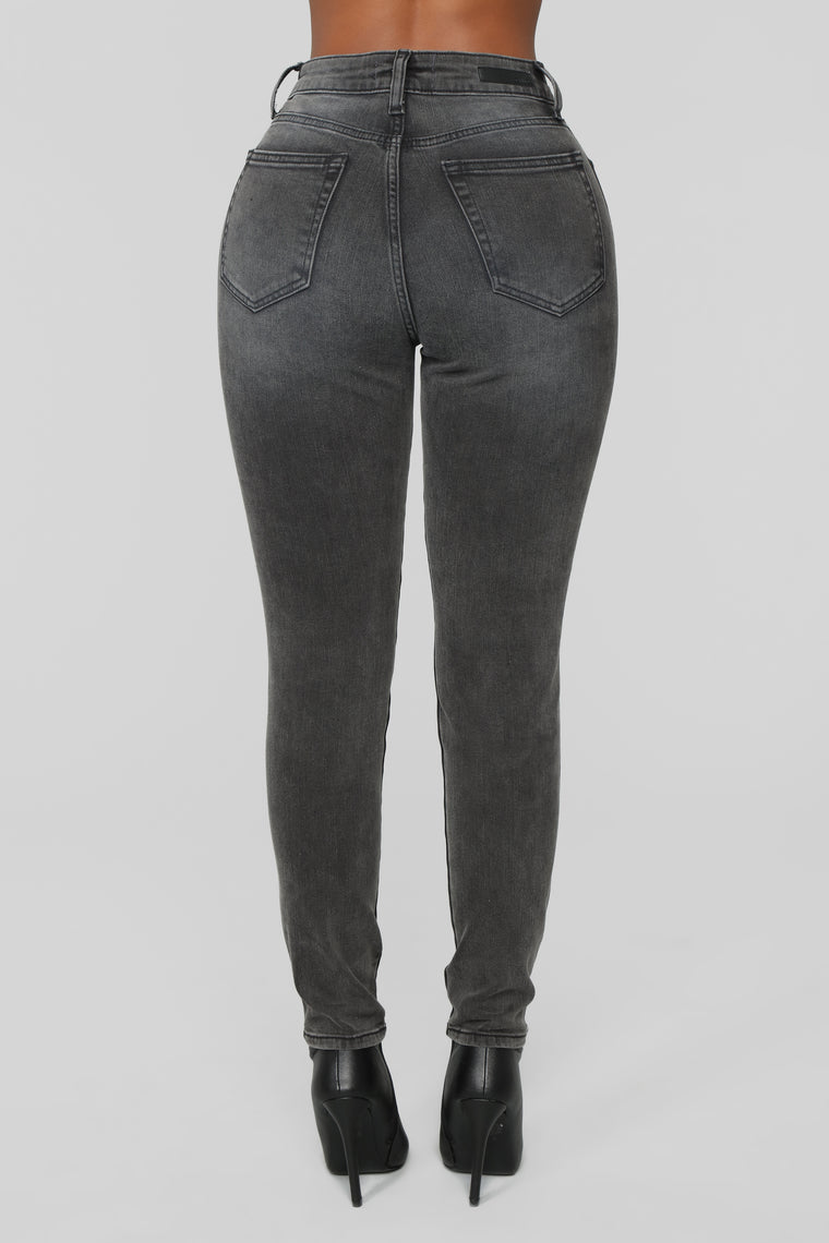 Such A Fool Skinny Jeans - Black