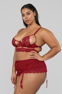 Red Kisses 2 Piece Set - Red