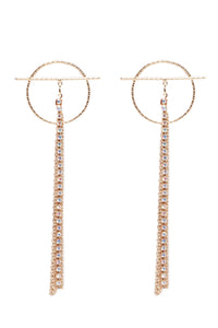 Main Attraction Earrings - Gold