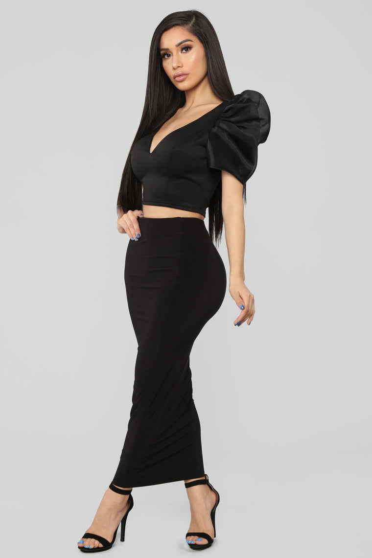Wish Upon A Star Top - Black