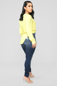 Secret Love Spell Top - Yellow