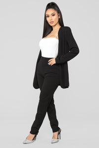 Payin' It Forward Blazer Set - Black Angle 3
