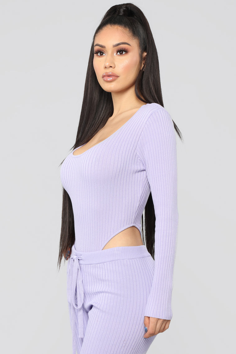 Lips Like Sugar Pant Set - Lavender