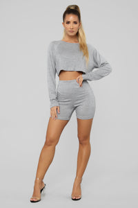 Staying Cozy Set - Heather Grey Angle 2