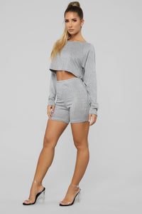 Staying Cozy Set - Heather Grey Angle 3