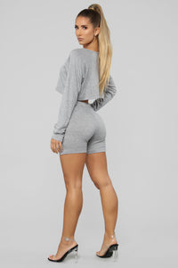 Staying Cozy Set - Heather Grey Angle 5