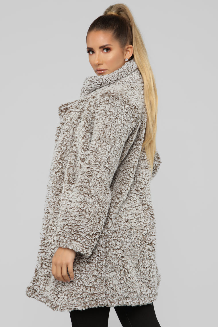 City Nights Jacket - Taupe