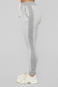 Breakfast In Bed Lounge Jogger - Heather Grey