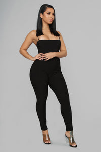 I'm Not Like Them Moto Leggings - Black