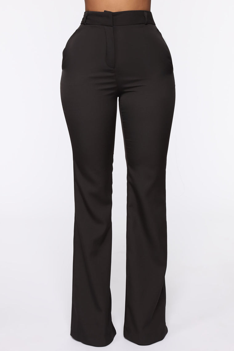 Business Over Boys Trouser Pants - Black