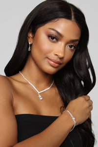 Everything You Want Jewelry Set - Silver