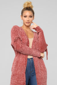 Can't Help Myself Sweater - Mauve