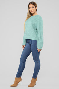 All My Life Sweater - Teal