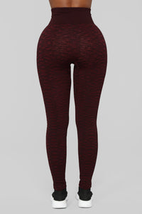 So Into You Seamless Leggings - Brick