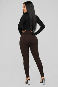 Good Intentions Seamless Leggings - Brown