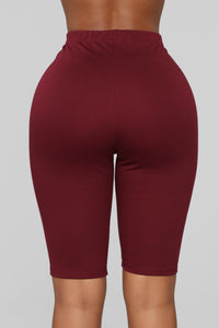 Leyla Long Sleeve Lounge Set - Burgundy Angle 7