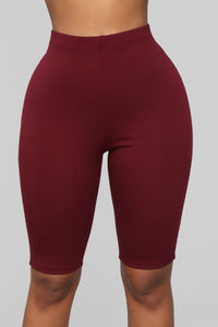 Leyla Long Sleeve Lounge Set - Burgundy Angle 6