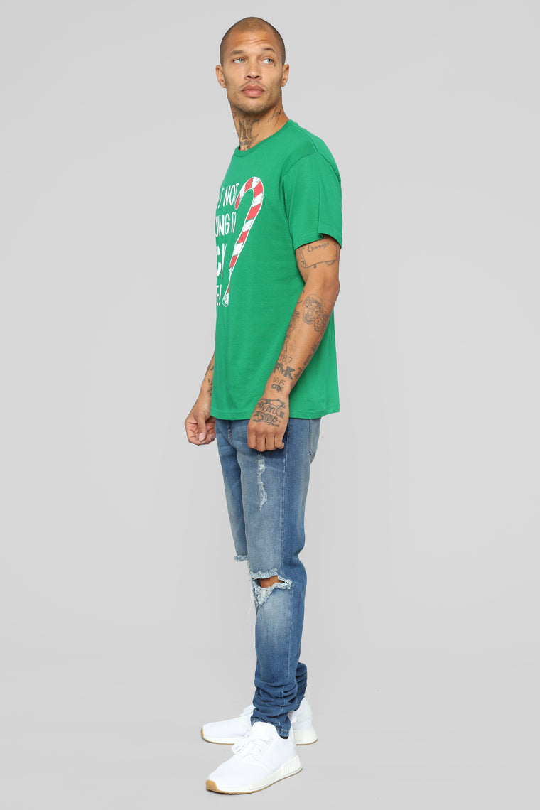 It's Not Going To Lick It Self Short Sleeve Tee - Green