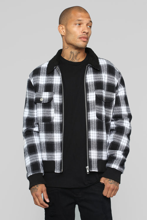 James Casual Jacket - Black/Combo