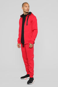 Gravel Moto Jogger - Red