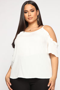 Doin' That To Me Top - Ivory