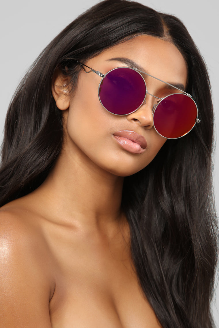 Cute Stuff Sunglasses - Purple