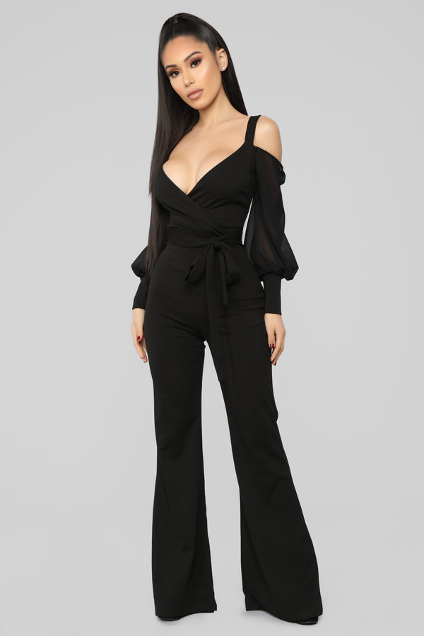 3e623be131aa Falling For Your Charm Jumpsuit - Black
